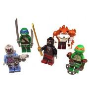 "LEGO® todas las cifras de ""Shellraiser Street Chase"" - Las Tortugas"