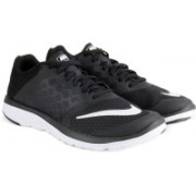 Nike FS LITE RUN Running Shoes(Black, White)