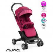 Nuna Carucior ultracompact Pepp Luxx cu bara de protectie Raspberry
