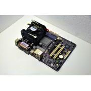 Kit Placa de Baza + Procesor Socket 478 Celeron D 2.4 GHz JetWay PM2MP Max. 2 GB DDR SDRAM 266 MHz Video si Sunet Integrat