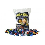 "1000 Pc Building Bricks Free Brick Separator ""Brick Genius"" Building Block Bulk Set Tight Fit And Compatible With Lego 60 Roof Pieces"