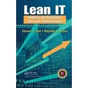 Lean IT by Steven C. Bell