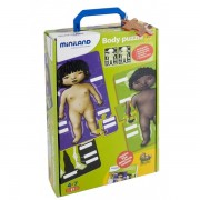 Joc puzzle educational corpul uman - Miniland