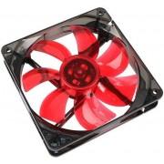 Ventilator Cooltek Silent Fan 120mm LED (Rosu)