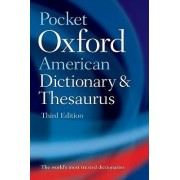 Pocket Oxford American Dictionary & Thesaurus by Oxford University Press