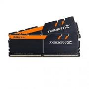 GSkill F4-3200C15D-32GTZKO Memoria RAM da 16 GB, DDR4, 3200 MHz, CL15, Kit 2 Pezzi, Nero