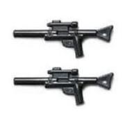 Lego Minfigure Weapon: 2 Star Wars Long Blasters