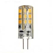 3W G4 Luminárias de LED Duplo-Pin 24 SMD 2835 270 lm Branco Quente DC 12 V