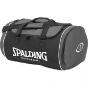 Spalding Sporttasche TUBE SPORTBAG - anthrazit/schwarz/weiß | L