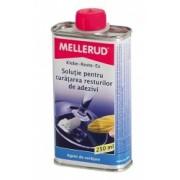 Soluţie pentru curăţarea resturilor de adezivi