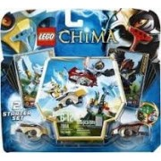 Game / Play LEGO Chima 70114 Sky Joust Features canyon peak ramps raven and eagle Speedorz 2 ripcords Toy / Child / Kid