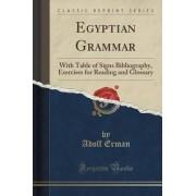 Egyptian Grammar by Professor Adolf Erman