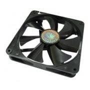 Ventilador Cooler Master Silent Fan, 140mm, 1000RPM, Negro
