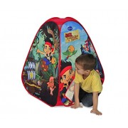 The Ninja Corporation 6462 - WD Jake Il Pirata Tenda Gioco, Poliestere, Stampata su 4 Lati, 75 x 75 x cm x Altezza 90 cm