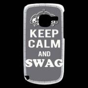 Coque Nokia C3 Keep Calm Swag Gris