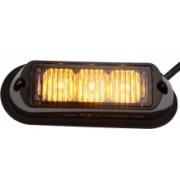 Flash stroboscopic cu 3 LED-uri Galbene
