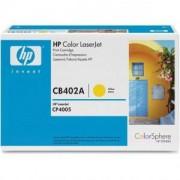 Тонер касета за Hewlett Packard Color LaserJet Yellow Print Cartridge CLJ CP4005 (CB402A)
