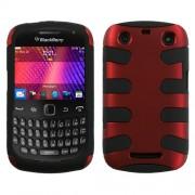 Funda Protectora Blackberry Curve 3 9360 Rojo Titanium Mixto