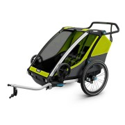 Thule Thule Cykelvagn Chariot Cab 2 Chartreuse Grön