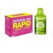 Depuralina Rapid + DrenaSlim Clean 600 ml-Suplemento Alimentar(Portes gratuitos)