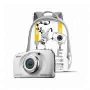 Nikon Aparat NIKON Coolpix W100 Biały + Plecak