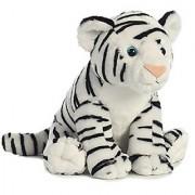 Aurora World Destination Nation Animal White Tiger Plush