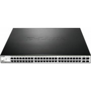 Switch D-Link DGS-1210-52p 48-port Gigabit Ethernet 4-port SFP Layer 3 PoE