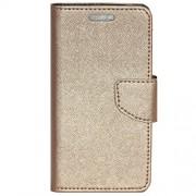 Zaoma Diary Type Flip Cover for PANASONIC P55 NOVO - Rose Gold