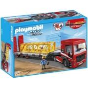 Playmobil - 5467 - Figurine - Tracteur Routier Avec Grande Remorque