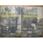 Casa Buddenbrook Declinul Unei Familii Vol.1-2 (putin Uzate) - Thomas Mann