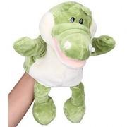 Flexibuy 12 Babies Toddlers Velour Cute Crocodile Alligator Full Body Hand Puppet Toys