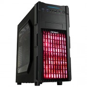 CABINET GX 200 WINDOWED RED