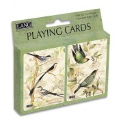 Lang Tropical Birds Playing Cards by Susan Winget (Set of 2) by Perfect Timing Puzzles