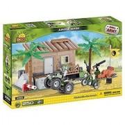 Cobi 2359 Small Army Forest/ Jungle Base 250 Pieces building bricks
