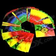 Magic Props Poker de colores de Rainbow Thin - Blanco + Multicolor