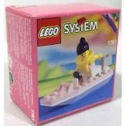 Lego 1761 Paradisa Motorboat Speed Boat City Town Minifigure