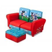 Delta Children sofá acolchado 3-en-1 Mickey