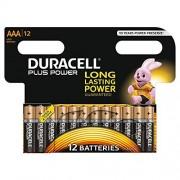 Duracell Pila Alcalina AAAx12 Plus Power