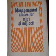 Managementul Afacerilor Mici Si Mijlocii - Rusu Costache