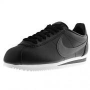 Para hombre Negro Nike Classic Cortez entrenadores Negro
