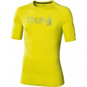 Asics Men's Graphic Running Top - Electric Lime - XXL