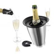 Vacu Vin Champagnergeschenkset mit Kühler