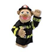Melissa & Doug 12552 Firefighter Puppet