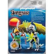 Playmobil 5465 - Drago Fulmine con Guerriero