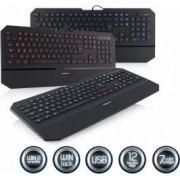 Tastatura Iluminata Modecom MC-800M Neagra