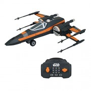 Star Wars Episode Vii Rc Vehicle With Sound E Light Up U Command X Wing 30 Cm Thinkway Toys