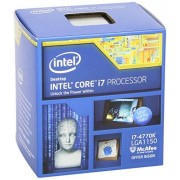 Intel BX80646I74770K Boxed Intel Core i7-4770K Haswell socket 1150 Processore con Ventola, 8 MB Cache, 3.50 GHz