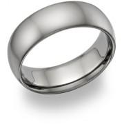 Plain Titanium Wedding Band Ring - Made in the USA