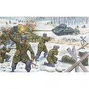 ITALERI Diorama Set 70th Anniversary Battle of the Bulge Winter 1944