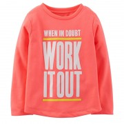 Carter's - Bluza fete Work it Out